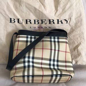 100% Authentic Burberry Canvas Shoulder Bag